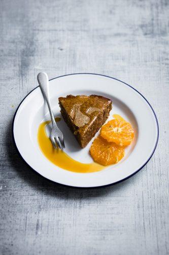 Torta di polenta e arancia